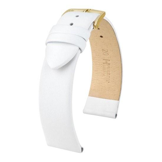 Hirsch - Horlogeband Toronto M 20mm Wit