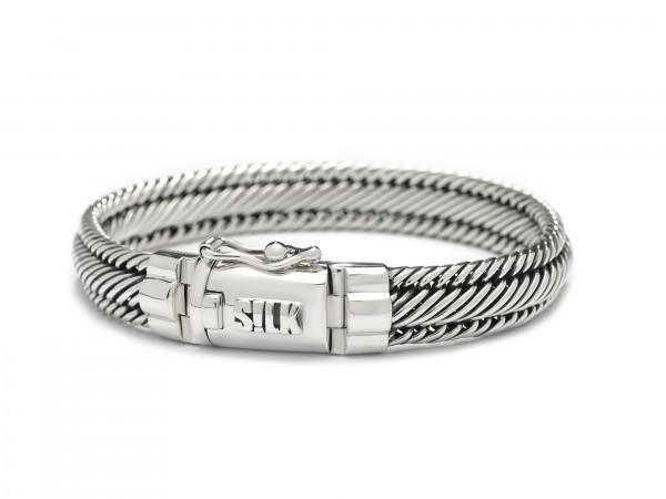 Silk Madonna 731 armband 19cm zilver