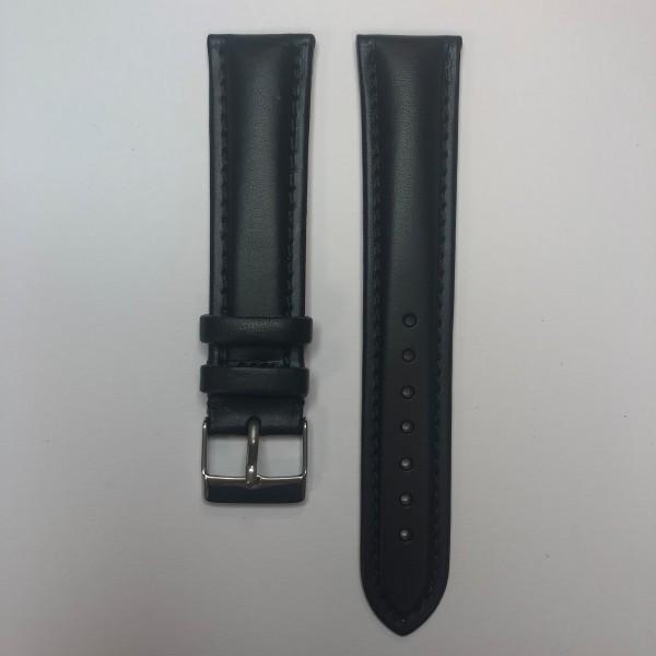Remerko Horlogeband - Zwart - 20mm