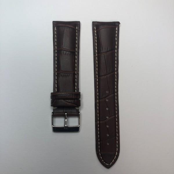 Remerko Horlogeband - Midden Bruin - 22mm