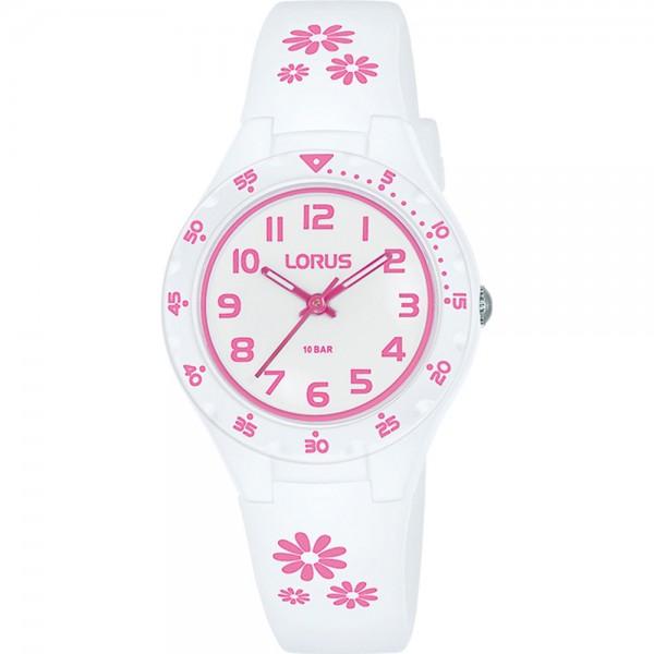 Lorus horloge Young RRX59GX9 - wit roze
