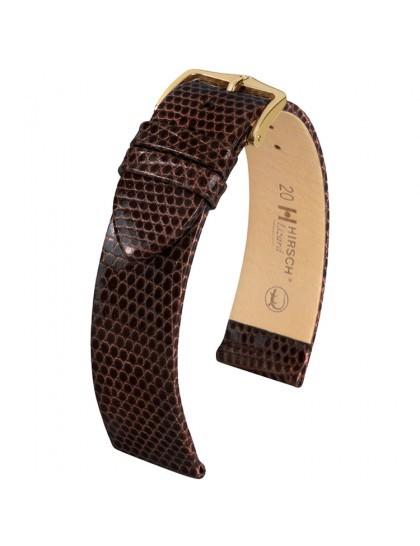 Hirsch Lizard Horlogeband 01766010-1-18