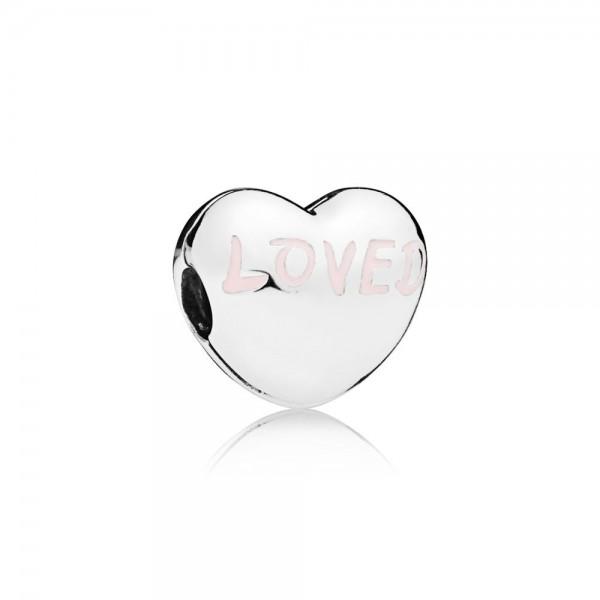 Pandora Love Heart Bedel 797807EN124 Zilver Emaille