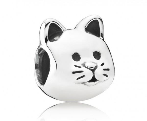 Pandora Bedel Dames Cat 791706 Zilver