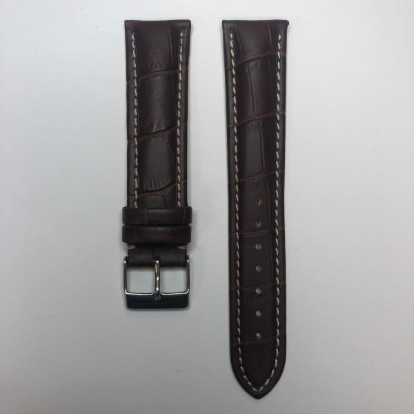 Remerko Horlogeband - Midden Bruin - 20MM