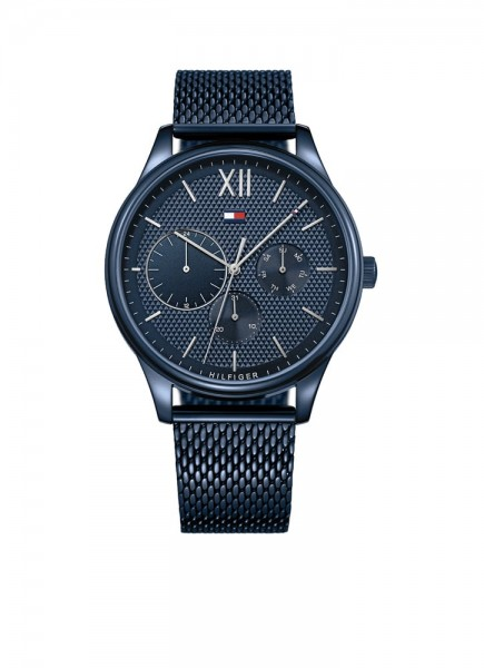 Tommy Hilfiger Sport Damon Herenhorloge Quartz TH1791421 Blauw