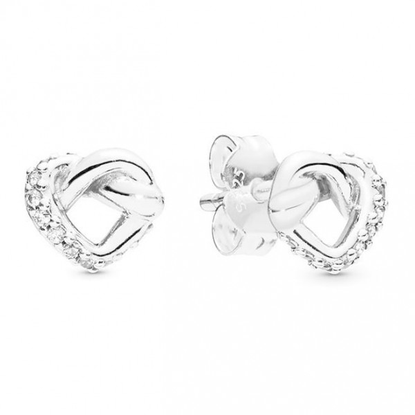 Pandora Oorknoppen Knotted Hearts 298019CZ