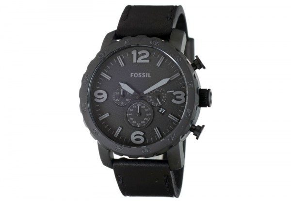 LOSSE ORIGINELE HORLOGEBAND JR1354 zwart Fossil 24mm